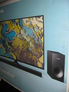 Samsung 220 Watt 2.1 Channel Sound Bar with Wireless Subwoofer. Bluetooth. Dolby Surround Sound. Comes with Remote. NEW