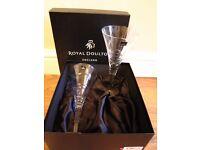 ROYAL DOULTON WINE GLASSES X 4
