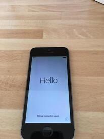 iPhone 5s space grey 32gb unlocked