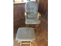 Nursing Chair, good condition, includes cushions.