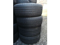 4x Ford 15 Inch Alloy Wheels with Tyres 195/50R15