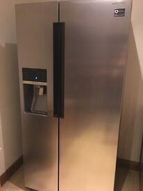 Samsung American-Style Fridge Freezer - Stainless Steel