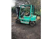 DIESEL 4 TONNE FORK LIFT!! LOW BOOM FOR CONTAINERS!!