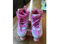 Rio Roller Limited Edition Pink Quad Skates - Size 2. Excellent condition.