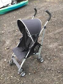 Babies'r'us Pronto Black Buggy