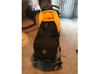 Bugaboo bee pram and footmuff
