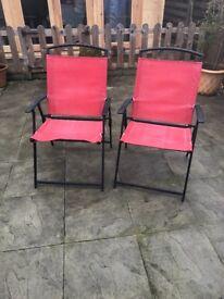 6 x Garden Chairs
