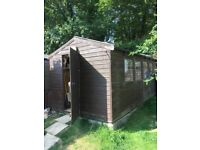 8 x 16 Wooden Apex Shed