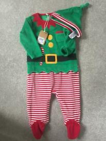 Next elf Xmas outfit 6-9mths