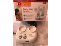 Ameda Purely Yours Lactaline Double Breast Pump - Hardly Used