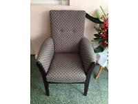 Care home armchairs and seats