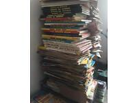 Hundreds of Beano and Dandy comics and annuals