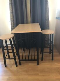 Pub Table and Stools