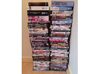 100 DVD's and Sony DVD player