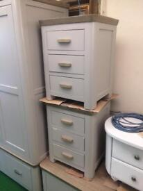 Grey bedside tables from £100