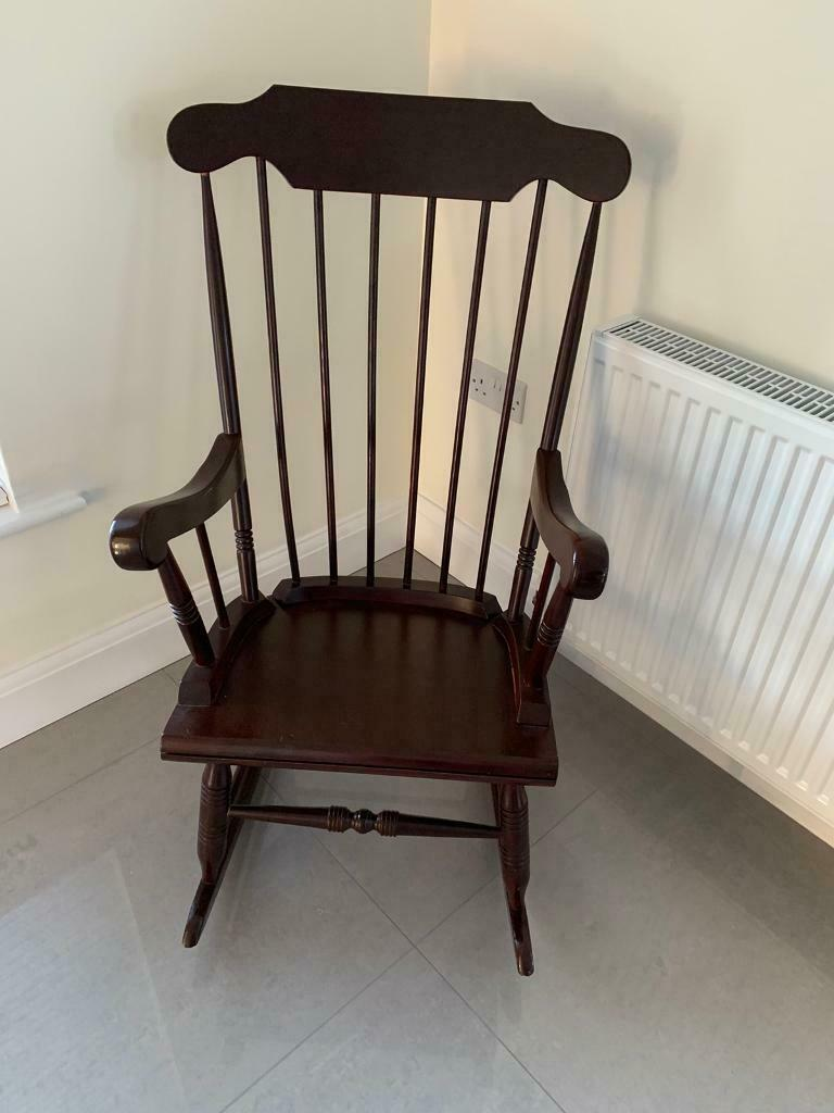 Picture of: Wooden Rocking Chair Nursery Bedroom Furniture In Crossgar County Down Gumtree