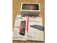 NEW UNOPENED 32gb Iphone 6S + tech21 shield/case