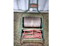 Vintage Pushalong Mower with Roller by Webb