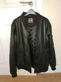 Leather jacket medium