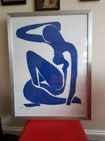 Matisse 'blue nude print