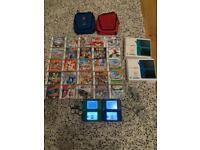Nintendo DSi XL x2 Collection Boxed 31 Games