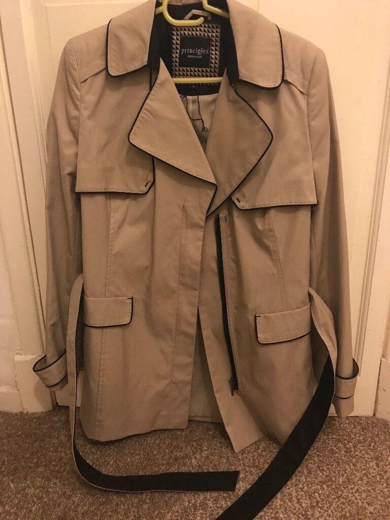 Women's principles new beige jacket