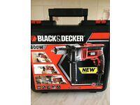 Black & Decker 800w Percussion Hammer Drill **NEW**
