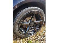 "Vauxhall Penta alloys 18"" with tyres"