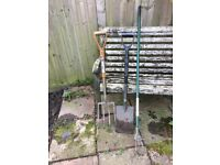 Shovel, pitch fork & rake - very good condition (URGENT SALE!!! Must go by Saturday)