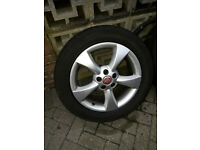 "X4 Jaguar S-X Type / Ford-Volvo 17"" Hercules Alloy wheels x2 new tyres x2 5x108"