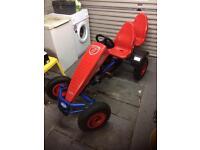 Berg 2 seater pedal go kart! Unused