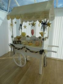 Candy Cart, Jars and accessories for sale.