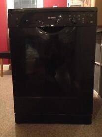 Bosch Black dishwasher