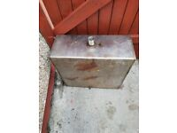 Yacht or boat stainless steel fuel tank.