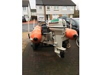 Rib for sale, flatacraft 12ft has fish finder and rod holder , road trailer no patches £1700 Ono
