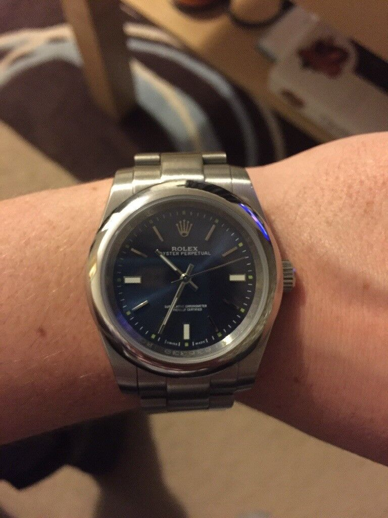Rolex Oyster Perpetual men's watch