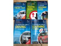 Learning to drive books and CDs