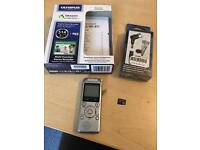 Olympus WS-811 voice recorder +microphone + micro sd