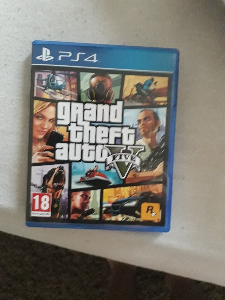 GTA five ps4in Stratford, LondonGumtree - GTA FIVE PlayStation 4 £20 bought 2 days ago unwanted birthday present