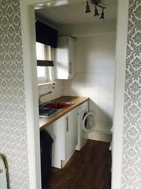 Partly furnished studio flat for rent