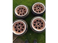 4x100 calibre wheels