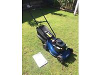 Challenge Extreme push petrol lawnmower. Exceptional condition.