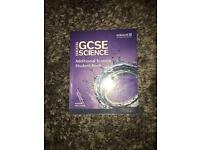GCSE Additional Science student book