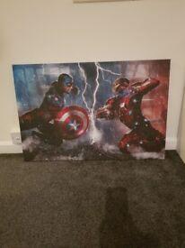 Avenger canvas picture