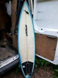 Spider surfboard 6ft
