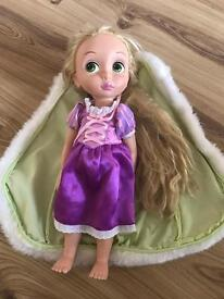 Disney Rapunzel Doll, £4