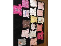 Size 3-6 months huge baby girl bundle.