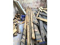 Reclaimed timber joists 4x2 4x3