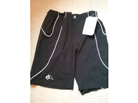 3ef387ec7 Altura Black womens cycling shorts size 10 with lycra padded detachable  lining