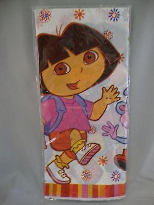 DORA THE EXPLORER PLASTIC TABLE COVER -- PARTY - Dora Party Supplies